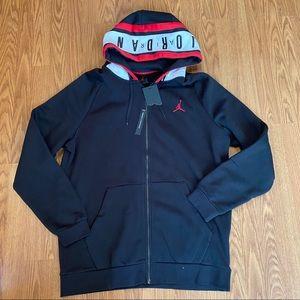 Jordan Mens Air Fleece Full-Zip MENS Hoodie Sz: XL